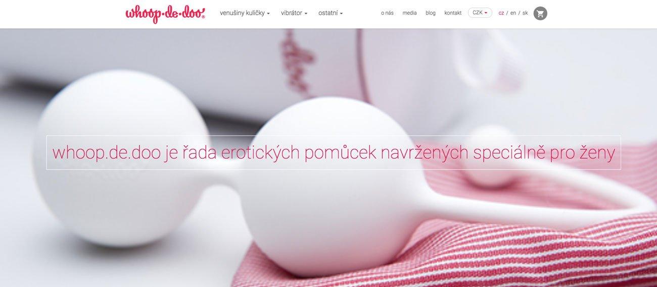 """RECENZIA """"sexshopu"""" Whoopdedoo.cz – objednávka, nákup a skúsenosti"""